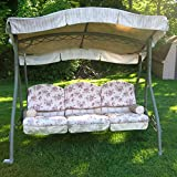 Cheap Garden Winds Arched Roof Swing Replacement Canopy