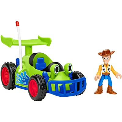 Fisher-Price GFR99 Imaginext Disney Toy Story Woody & R.C., Multicolor: Toys & Games