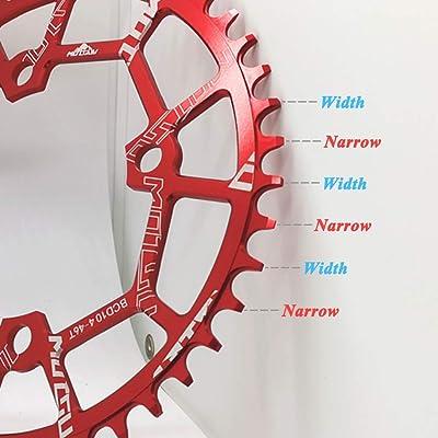 MOTSUV Bike Crank 104BCD 40-52T Mountain Bicycle Chainwheel MTB bike Chainring