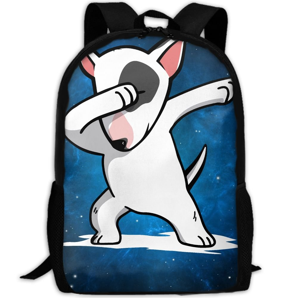 0af439a95780 ZQBAAD Funny English Bull Terrier Luxury Print Men And Women s Travel  Knapsack hot sale 2017