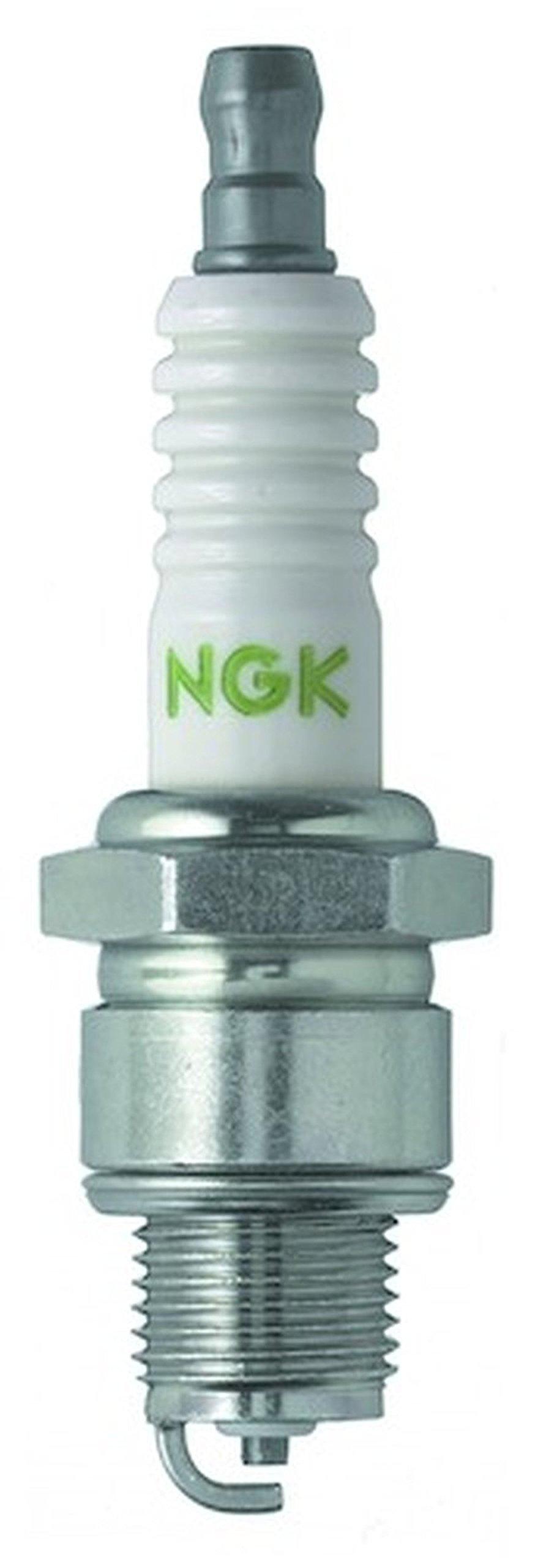 Set (10pcs) NGK V-Power Spark Plugs Stock 4838 Nickel Core Tip Special Side Ground 0.040in BP8H-N-10