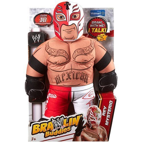 WWE Brawlin' Buddies Rey Mysterio Plush by Mattel