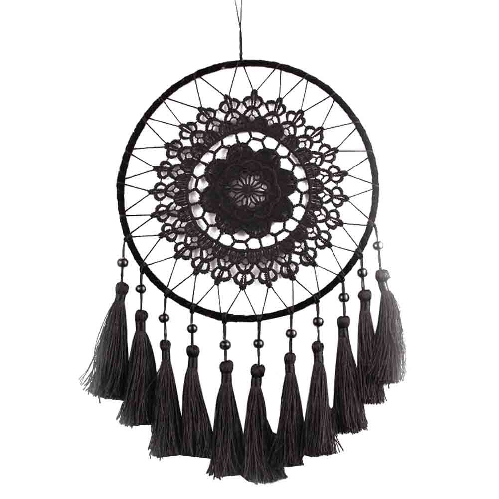 Amazon Buyitnow Large Crochet Dreamcatcher With Long Tassel