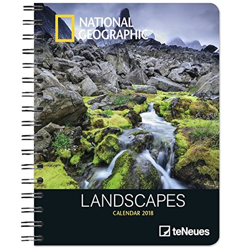 2018 National Geographic Landscapes Deluxe Diary - teNeues ...