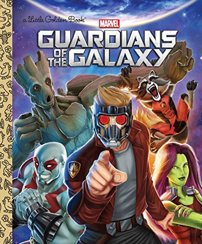 Price comparison product image Guardians of the Galaxy (Marvel: Guardians of the Galaxy) (Little Golden Book)