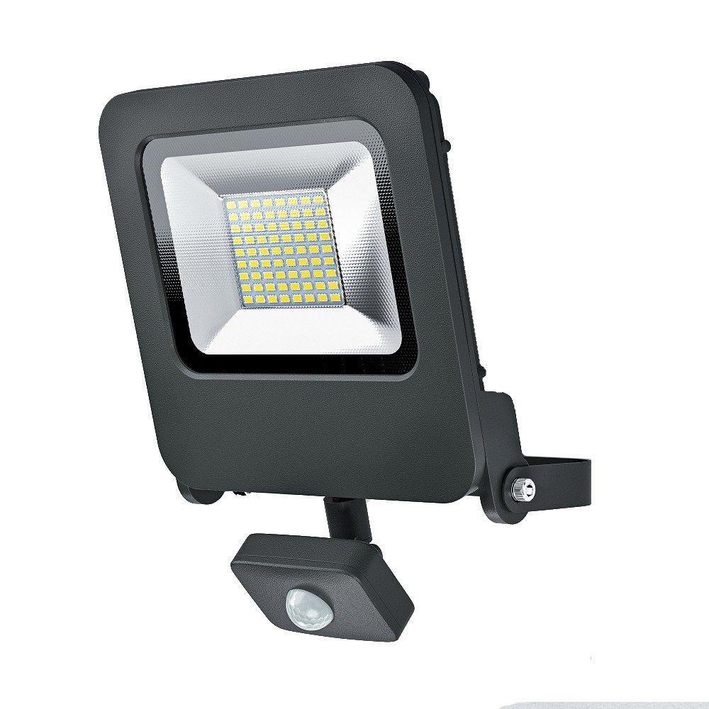 Osram LED Endura Flood Sensor Fluter, für Außenanwendungen, integrierter Bewegungssensor, Warmweiß, 257, 0 mm x 201, 0 mm x 63, 0 mm Warmweiß Ledvance 4058075064362