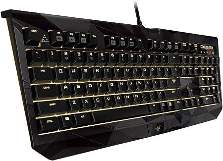 Razer BlackWidow Chroma Gaming Keyboard – Deus Ex Edition (USA Disposición – QWERTY)