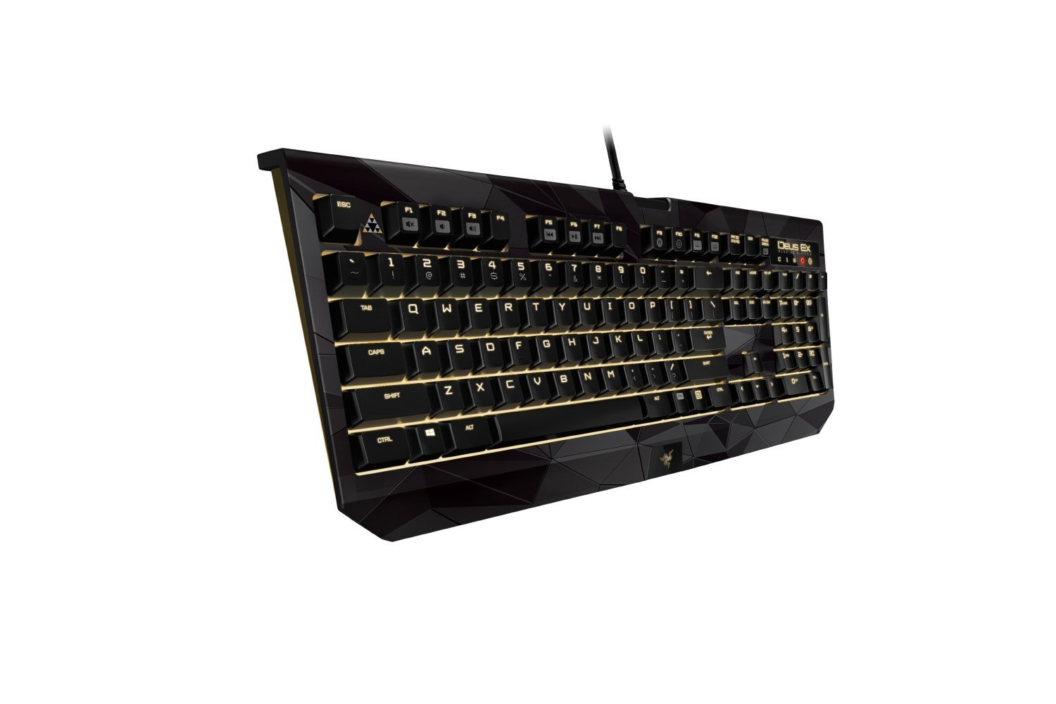 Razer Deus Ex Black Widow Chroma Mechanical Gaming Keyboard - Limited Edition (RZ03-01223300-R3U1)