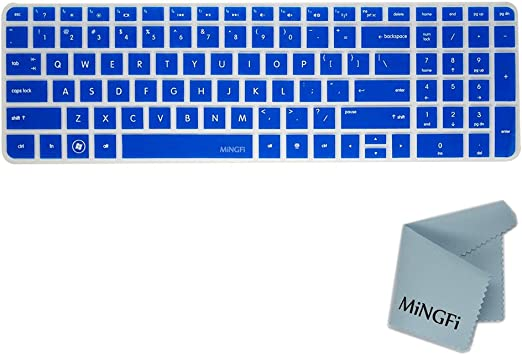 MiNGFi Silicone Cubierta del Teclado/Keyboard Cover Skin para ...