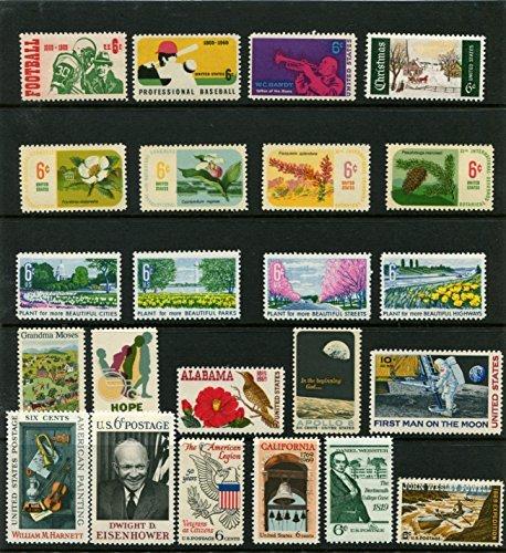 Postage Stamp Year Set - 6