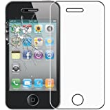 ebestStar - pour Apple iPhone 4S, 4 - Film protection écran en VERRE Trempé - Vitre protecteur anti casse, anti-rayure [Dimensions PRECISES de votre appareil : 115.2 x 58.6 x 9.3 mm, écran 3.5'']