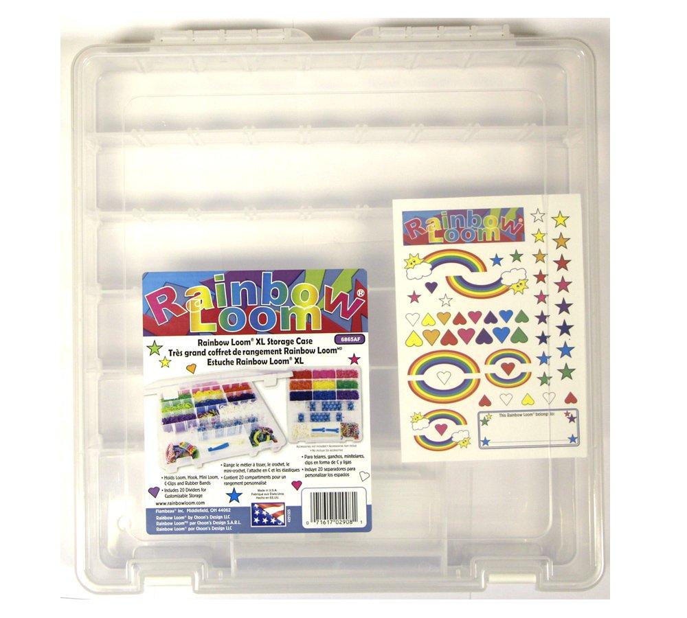 Amazoncom Rainbow Loom Large Organizer Case Toys Games