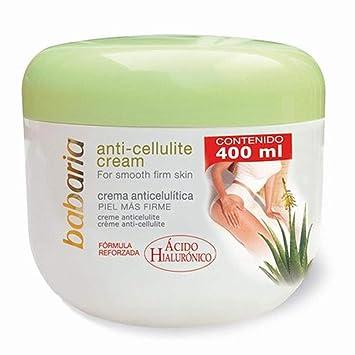 Amazon Com Babaria Aloe Vera Anti Celulitis Cream Cafeina 400 Ml Beauty