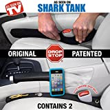Drop Stop - The Original Patented Car Seat Gap Filler - Set of 2 (AS SEEN ON SHARK TANK)