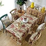 Luxury linen Tablecloths, [modern] Moose [classical] Rectangle 100% linen 1 piece Tablecloths-C 140x220cm(55x87inch)