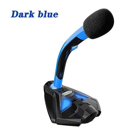 Micrófono de PC portátil Ordenador USB Gaming Mic Micrófono de PC ...