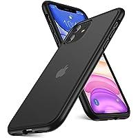 Humixx iPhone 11 ケース 耐衝撃 米軍MIL規格取得 レンズ保護 マット加工 半透明 6.1インチ