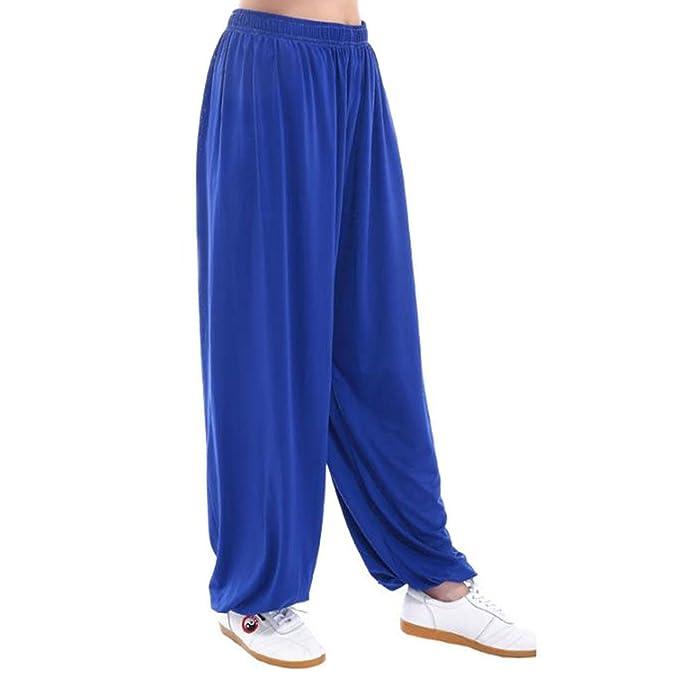 MESHIKAIER Hombre Casual Pantalones Elástico Harem Pantalones Jogging Pantalones Pantalones de Yoga Pantalones Aladin Pantalones Deportivo Ideal para ...