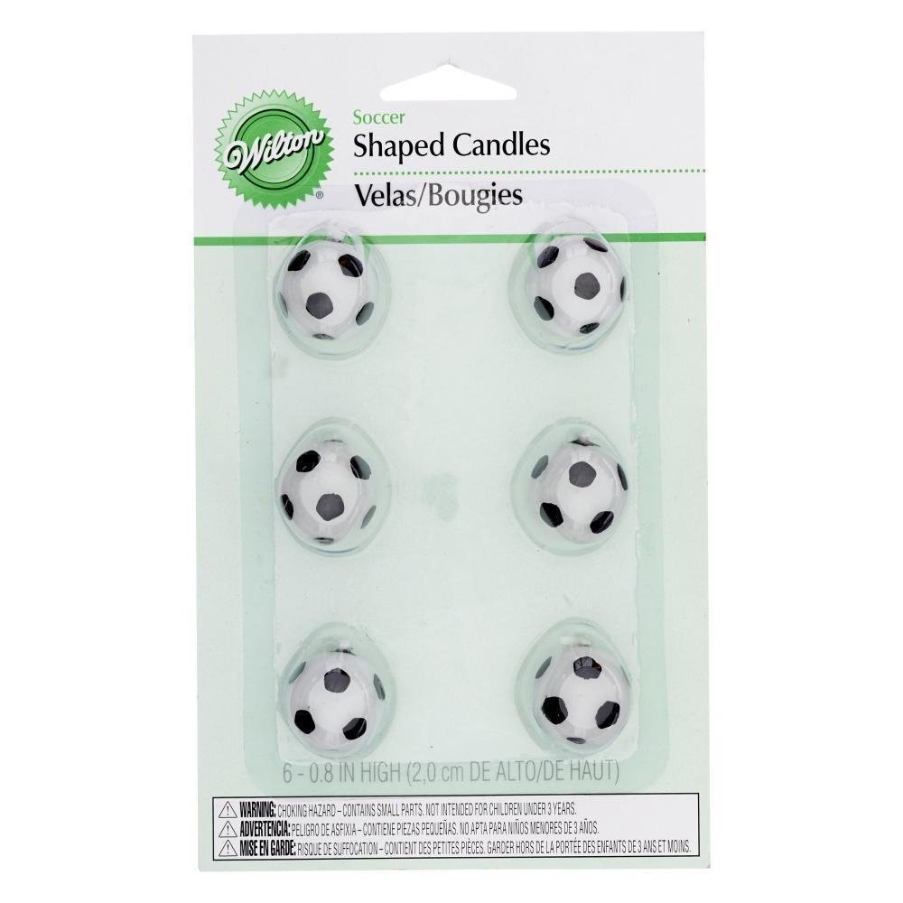 Wilton Bougies en forme de ballon de football Wilton Brands Inc 0261459 WIL 2811-9322