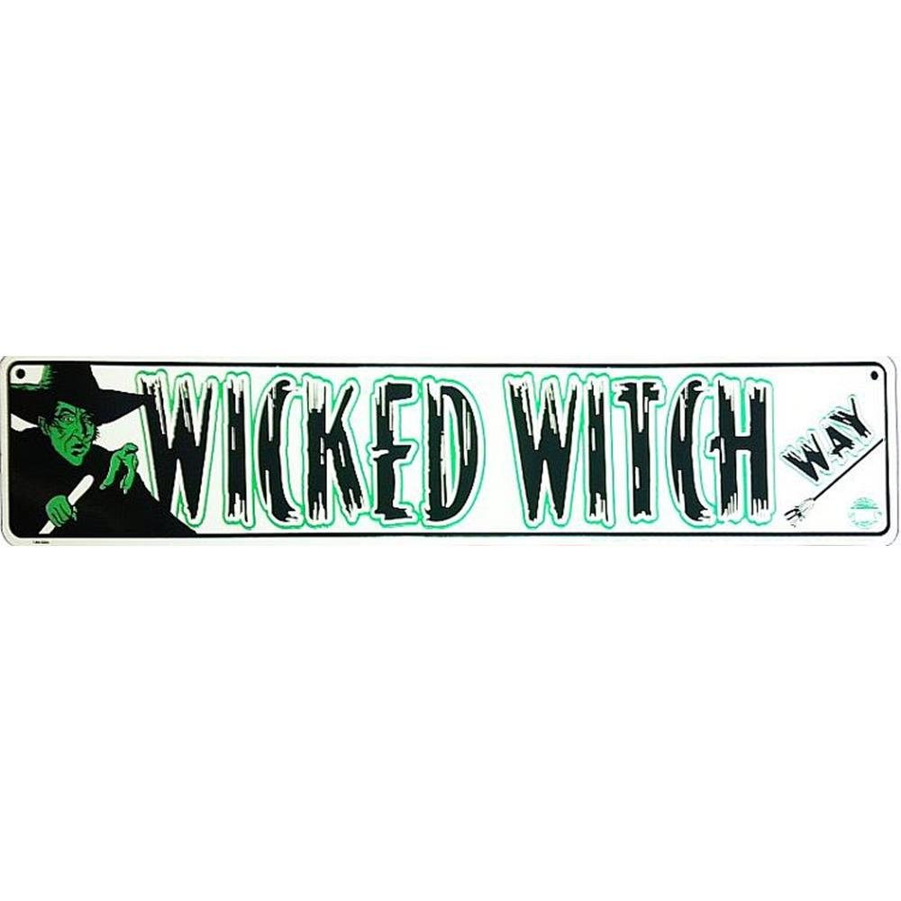 Signs 4 Fun SSYW2 Wicked Witch LF. Baum Street Sign