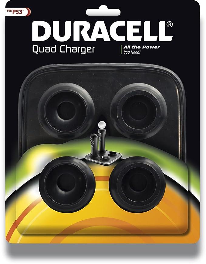 Duracell Move - Cargador para 2 mandos de PS3: Amazon.es: Videojuegos