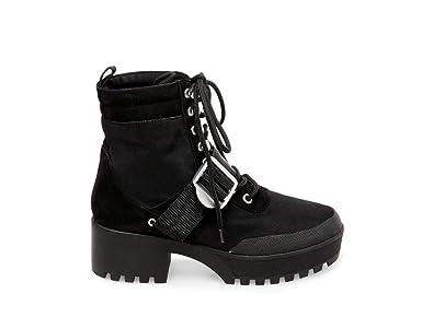669de597576 Steve Madden Women s Grady Hiker Boot Black Multi 6 M ...