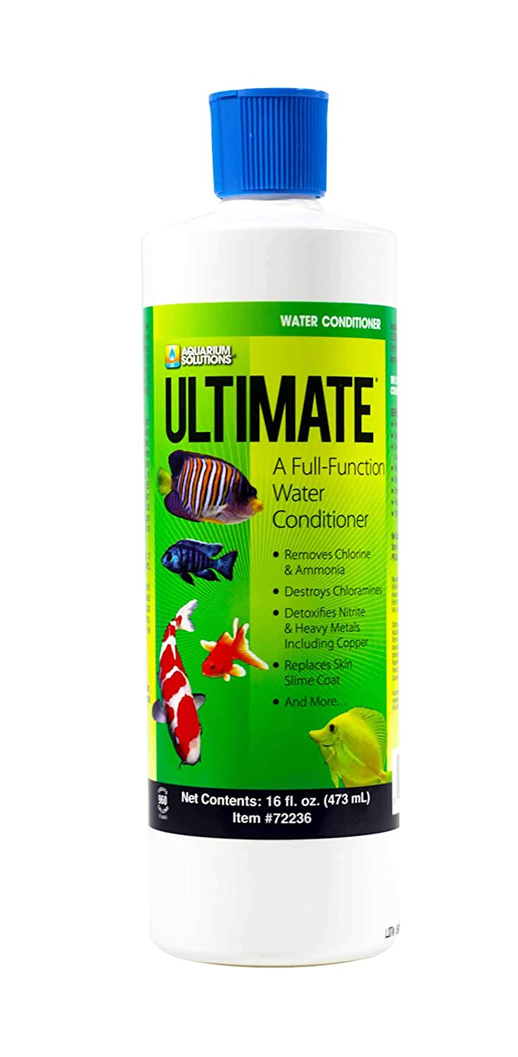 Hikari USA AHK72236 Ultimate Cloram-X Water Conditioner for Aquarium, 16-Ounce