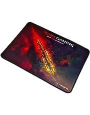 Mars Gaming MMP1 - Alfombrilla gaming para PC (máxima precisión con cualquier ratón, base de caucho natural, máxima comodidad, bordes reforzados, 35 x 25 cm)