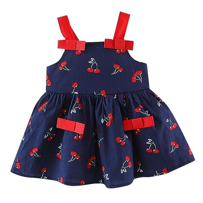 0-24M Baby Girl Lace Patchwork Short Sleeve Short Dress Little Princess Sundress