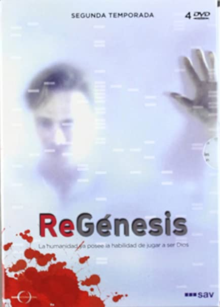 Amazon.com: ReGenesis - ReGénesis: Segunda Temporada - 4 DVD: Movies ...
