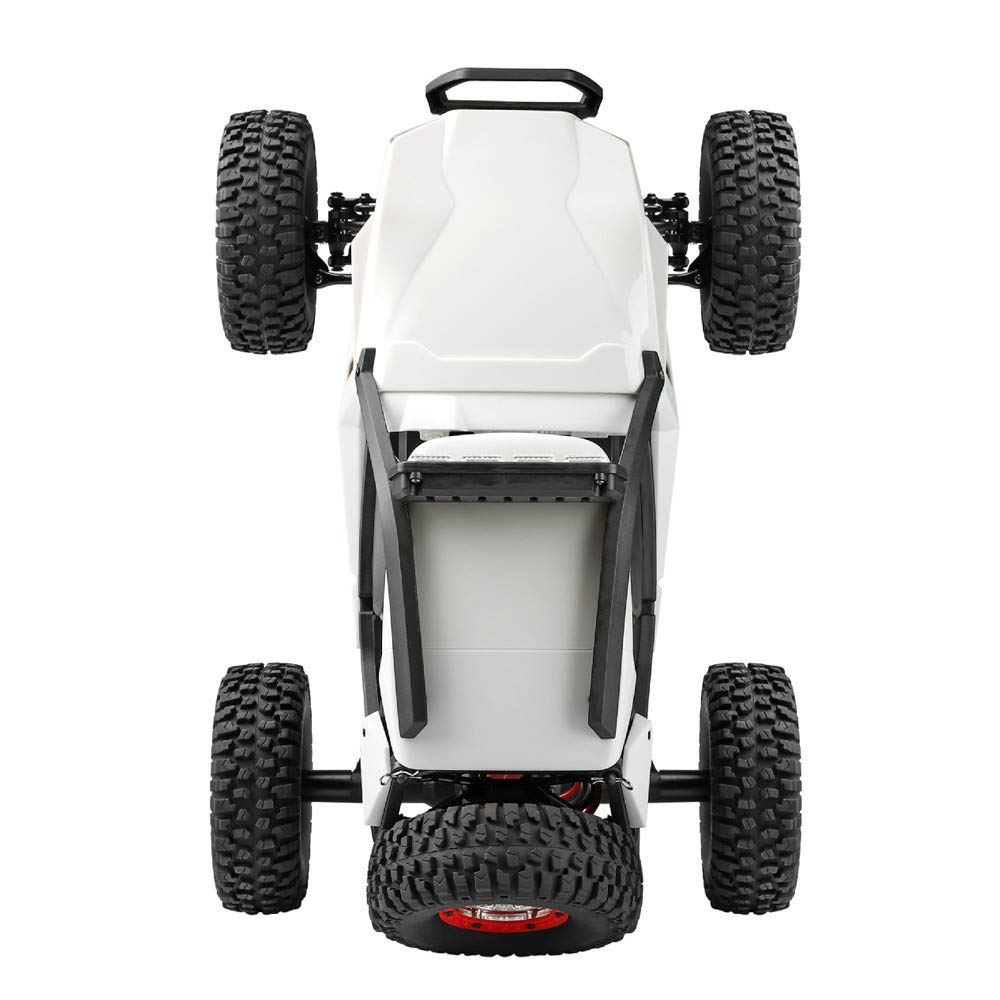 Choosebuy❤️ Wl 540 Brush Motor High Speed 40km/h 1:12 4D 2.4GHz Radio Off-Road Remote Control Car Racing with LED Children Adults Christmas Birthday Gift (White) by Choosebuy (Image #5)
