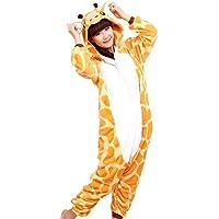 WOWcosplay Neuf pour Femme Adulte Pyjama pour Femme en Polaire Unisexe Animal Fantaisie Combinaison Kigurumi Pyjama Pyjama