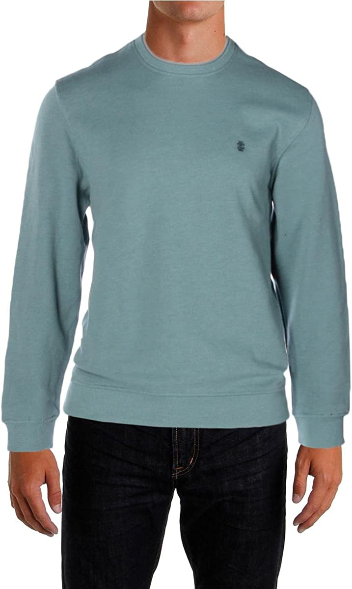 IZOD Mens Fleece Crew Sweatshirt