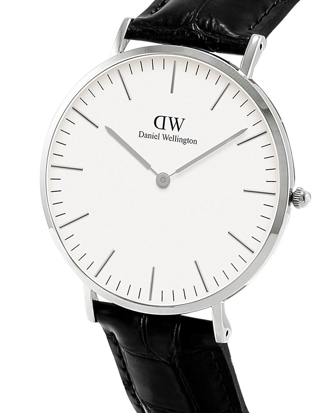 Daniel Wellington Reloj analogico para Mujer de Cuarzo con Correa en Piel 0613DW: Amazon.es: Relojes