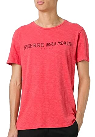 25357aa7f Pierre Balmain Paris Logo Tee, Red Vintage ($250) | Amazon.com
