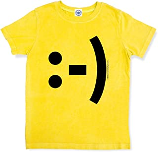 product image for Hank Player U.S.A. Happy Face Emoticon Kid's T-Shirt