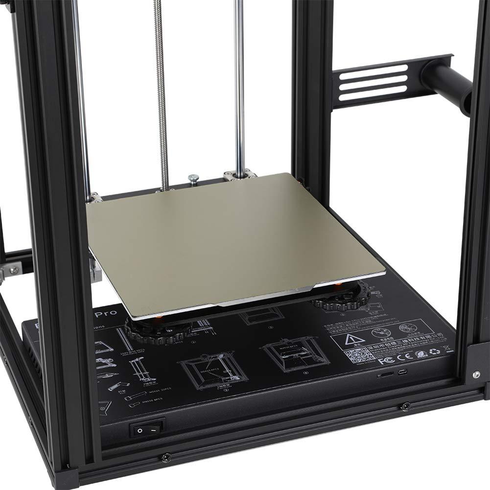 Superficie de construcci/ón magn/ética de metal flexible 2 en 1 235 x 235 mm para Creality Ender 3//3Pro//3X Ender 5 y CR-20 CR-20 Pro