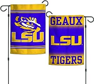 """WinCraft LSU Tigers 12""""x18"""" Garden Flag - Purple"""