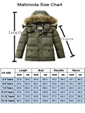 Mallimoda Big Boy's Hooded Bubble Jacket