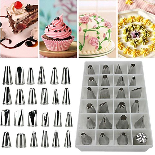 Icing Piping Nozzles Pastry Tips Cake Sugarcraft Decorating Tool Set from Unknown
