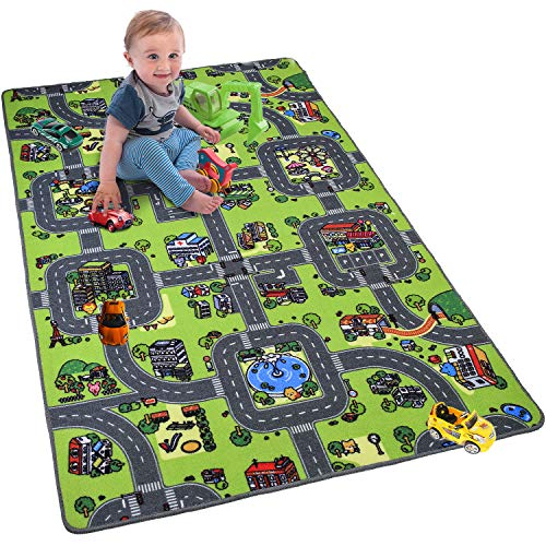 Softlife Kids Carpet Play Mat Rug Large 48
