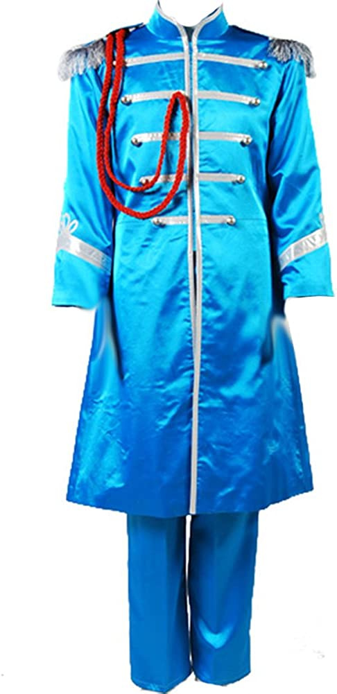 Amazon Com Cosplaysky The Beatles Costume Sgt Pepper S Lonely Hearts Club Paul Mccartney Cosplay Clothing