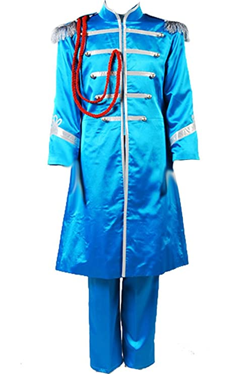 60s -70s  Men's Costumes : Hippie, Disco, Beatles CosplaySky The Beatles Costume Sgt.Peppers Lonely Hearts Club Paul McCartney Cosplay $89.99 AT vintagedancer.com