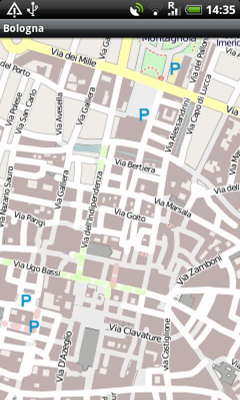 Amazon.com: Bologna Street Map