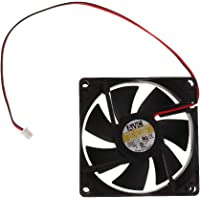 MagiDeal 80mm Case Fan 12V DC PC CPU Computer Cooling Fan 2Wire 2Pin 8025