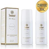 Soummé Antitranspirant Protection Roll-On for Women Kosmetikum [2 x 50 ml] | Schützt vor Schweiß- und Geruchsbildung, verschiedene Pflegestoffe [Die Höhle der Löwen]