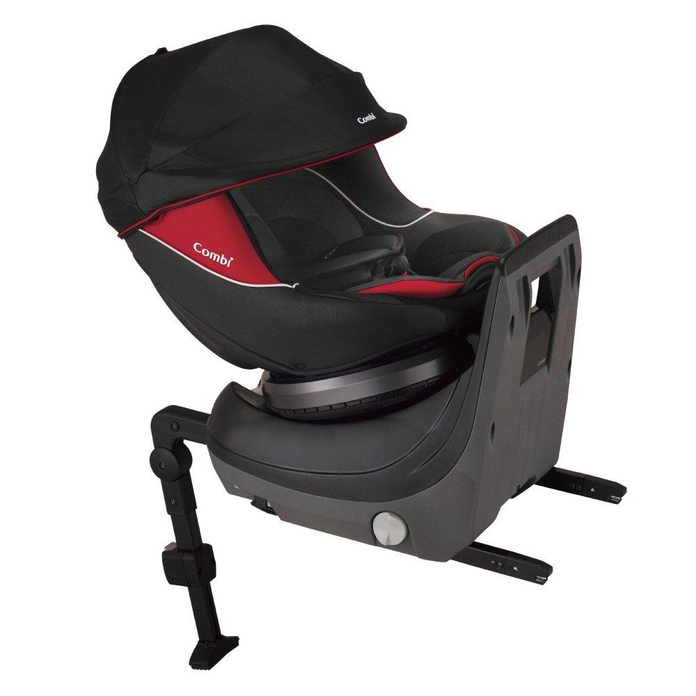コンビ チャイルドシート クルムーヴ ISOFIX エッグショック PJ ブラック 新生児~4才頃まで対象 B07B32ZBPJ  - -