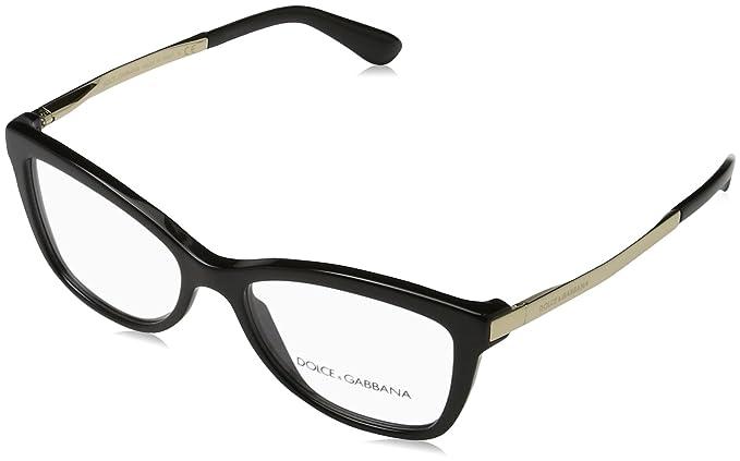 Occhiali da vista Dolce e Gabbana DG3218 501 nero black eyeglasses sehbrille, 52-16
