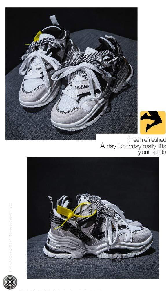 ZHIJINLI Scarpe da Ginnastica Scarpe da Ginnastica Ginnastica Ginnastica Moda Scarpe da Passeggio Scarpe da Trekking Scarpe da Allenamento Scarpe Sportive Luce Assorbimento Urti, 36EU 63a349