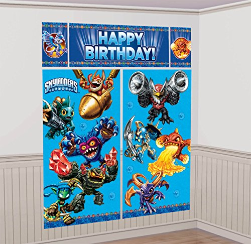 Amscan Skylanders Wall Decorating Kit (Each) -